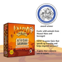 Load image into Gallery viewer, Buy Kaadoo African Savannah Jungle Safari Board Game - GiftWaley.com