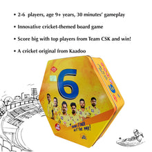 Load image into Gallery viewer, Buy Kaadoo CSK Cricket Board Game - GiftWaley.com
