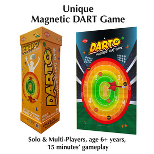 Buy Kaadoo Darto Magnetic Dart Board Game -  GiftWaley