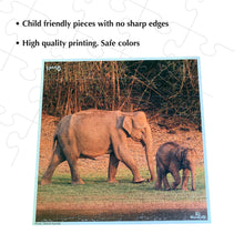Load image into Gallery viewer, Buy Kaadoo Jodo 2-in-1 Puzzle Game Elephant + Rhino - GiftWaley.com
