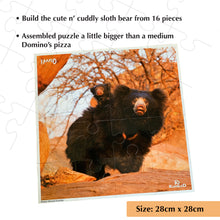 Load image into Gallery viewer, Buy Kaadoo Jodo 2-in-1 Puzzle Game Tiger + Sloth Bear - GiftWaley.com