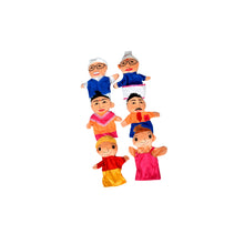 Load image into Gallery viewer, Kidken Family Hand Puppet - Set Of 6
