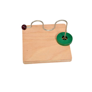 Toddler Montessori Horizontal Dowel Variation - Serpentine