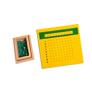 Kidken Montessori Division Learning Board