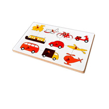 Load image into Gallery viewer, Kidken Montessori Insert Board Learning Board - Vehicles