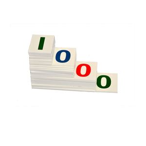 Kidken Montessori Large Number Cards 1 to 1000 Learning Box