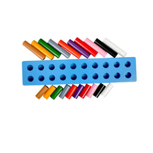 Load image into Gallery viewer, Kidken Montessori Pairing Of Rods Big Learing Board