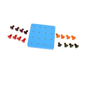 Kidken Montessori Pegboard Learning Game