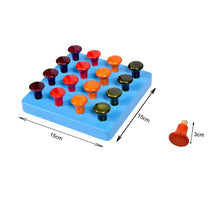 Load image into Gallery viewer, Kidken Montessori Pegboard Learning Game