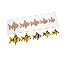 Load image into Gallery viewer, Kidken Montessori Size Variation Inset Learning Board - Fish