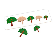 Load image into Gallery viewer, Kidken Montessori Size Variation Inset Learning Board - Tree
