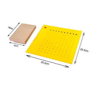 Multiplication Board with Bead Box Learning Board