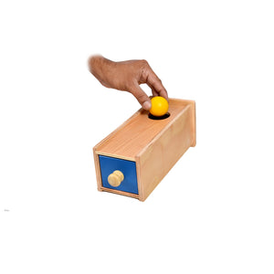 Object Permanence Learning Box with Drawer