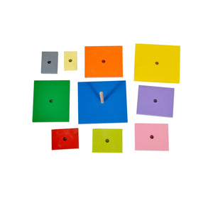 Kidken Rectangle Pyramids Stacker