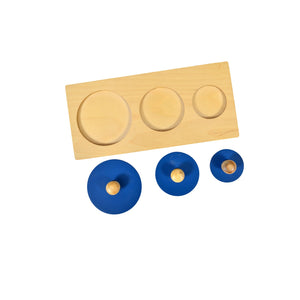 Kidken Three Circles Puzzle Board