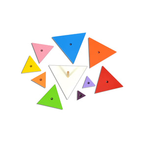 Kidken Triangle Pyramids Stacker