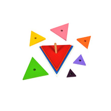 Load image into Gallery viewer, Kidken Triangle Pyramids Stacker