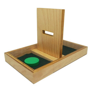 Buy Kido Toys Imbucare Board With Disc Montessori Material - GiftWaley.com