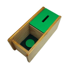 Load image into Gallery viewer, Buy Kido Toys Imbucare Box With Flip Lid Single Slot Montessori Material - GiftWaley.com