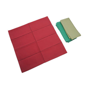 Buy Kido Toys Napkins For 12 Folding And 3 Dusters Practical Life Set - GiftWaley.com