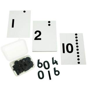 Buy Kido Toys Number Cards With Sandpaper Cut Outs Montessori Material - GiftWaley.com