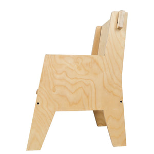 Buy Littles' Planet Montessori Wooden Arm Chair  - Position 2 - GiftWaley.com