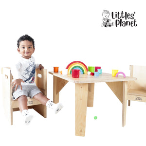Buy Littles' Planet Montessori Wooden Table - Child Play -  GiftWaley.com