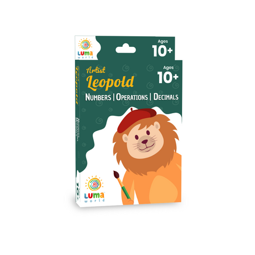 Buy Luma World Artist Leopold Flashcards - GiftWaley.com