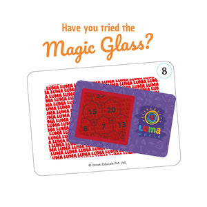 Buy Luma World Artist Leopold Flashcards - Magic glass - GiftWaley.com