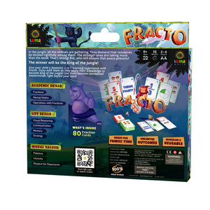Buy Luma World Fracto Educational Card Game - Box - GiftWaley.com