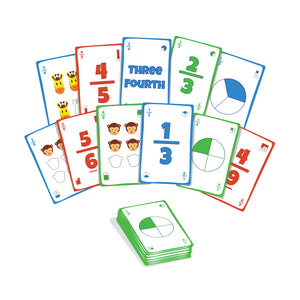 Buy Luma World Fracto Educational Card Game - Content - GiftWaley.com