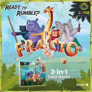 Buy Luma World Fracto Educational Card Game - Cover - GiftWaley.com
