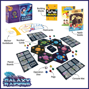 Buy Luma World Galaxy Raiders Educational Activiy Kit - Content - GiftWaley.com