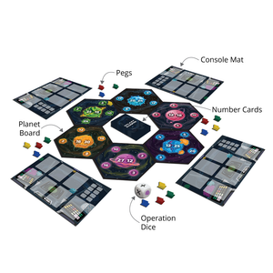 Buy Luma World Galaxy Raiders Strategy Board Game - Features - GiftWaley.com