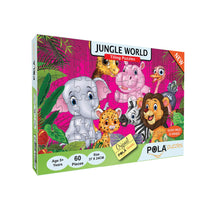 Load image into Gallery viewer, Pola Puzzles Jungle World 60 Pieces Tiling Puzzles