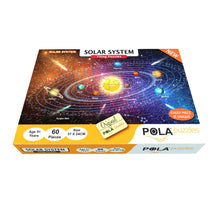Load image into Gallery viewer, Pola Puzzles Solar System 60 Pieces Tiling Puzzles