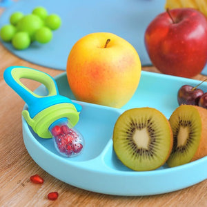 Buy Rabitat Hygienic Lock Nibbler With Silicone Fruit Feeder - GiftWaley.com