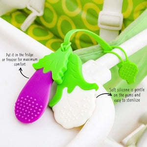 Rabitat Silicone Veggie Teether