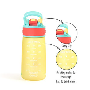 Buy Rabitat Snap Lock Sipper Bottle (410ml,  Mad Eye) - GiftWaley.com