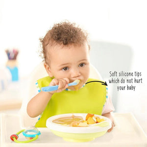 Buy Rabitat Soft And Flexible Silicone Spoons - GiftWaley.com