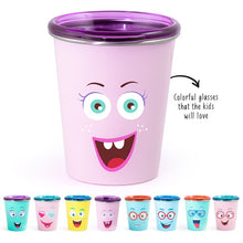 Load image into Gallery viewer, Buy Rabitat Stainless Steel Tumbler with Training Lid - Miss Butter - GiftWaley.com