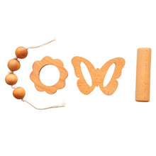 Load image into Gallery viewer, Buy Thasvi Montessori Baby Set With Teether And Rattle - Baby Set - GiftWaley.com