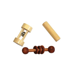 Thasvi Montessori Baby With Dumbbell Rattle