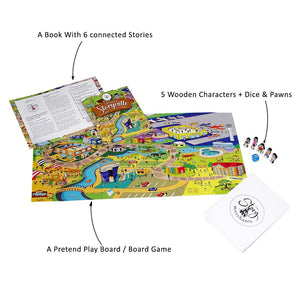 Buy The Story Merchants Exploring Storyville Story Board Game - GiftWaley.com