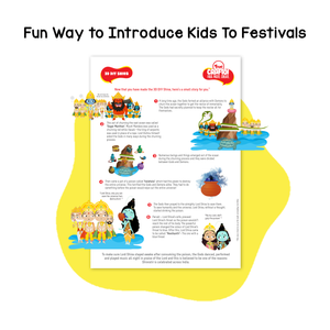 Toiing 3D DIY Paper Craft Kit - Craftoi Shiva, Teach Kids About Festivals