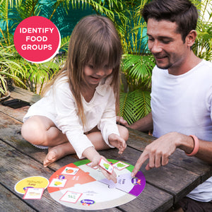 Toiing 4-in-1 Food & Fitness Game - Nutrivity, Teach Kids About Good & Bad Foods