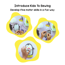 Load image into Gallery viewer, Toiing DIY Felt Stitching Kit - Stitchtoi Pedro The Penguin