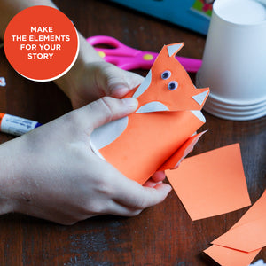 Toiing DIY Paper Cup Craft Kits - Paper Cup Art, For Imaginative Play