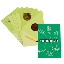 Load image into Gallery viewer, Toiing Educational Card Game - Farrago, For Visual Processing