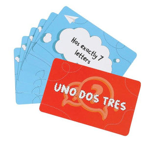 Toiing Educational Card Game - Uno Dos Tres, Based On Vocabulary